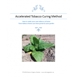 Accelerated Tobacco curing method, booklet
