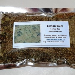 Lemon Balm (Melissa), Herbal Tea